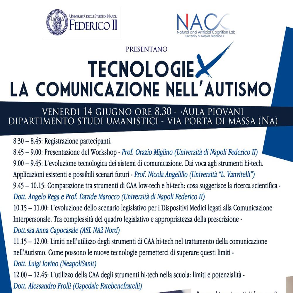 Tecnologie: la comunicazione nell'autismo – Napoli